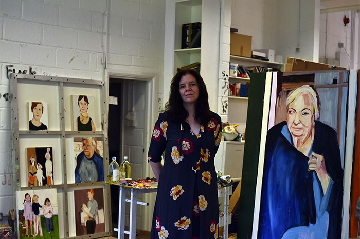 In the studio with… Chantal Joffe