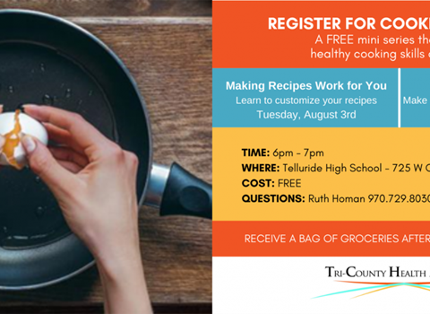 AUGUST 3 & 5 | Cooking Matters