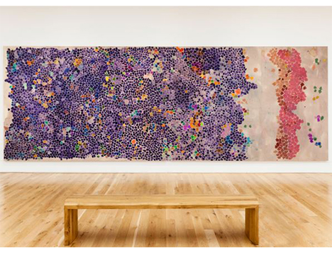 Image: Gillian Ayres, National Museum Cardiff